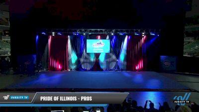 Pride of Illinois - Pros [2021 L2 Junior - D2 - Small Day 2] 2021 The American Gateway DI & DII