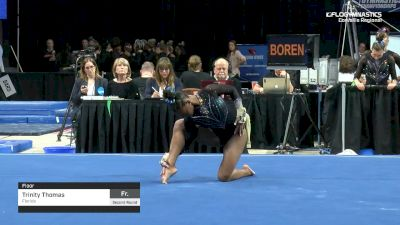 Trinity Thomas - Floor, Florida - 2019 NCAA Gymnastics Regional Championships - Oregon State