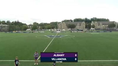 Replay: UAlbany vs Villanova | Sep 3 @ 4 PM