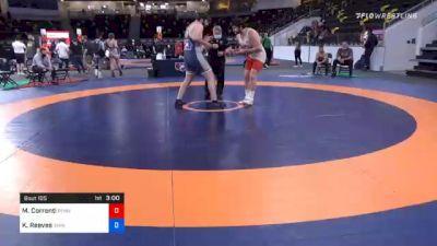 130 kg Consolation - Mauro Correnti, Pennsylvania RTC vs Kaleb Reeves, Iowa