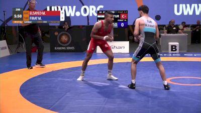 67 kg Final - Mohamed Elsayed, EGY vs Murat Firat, TUR