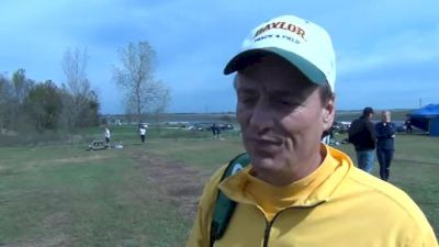 Coach Todd Harbour Baylor coach after Brooks Pre Nats 2011