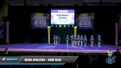 Reign Athletics - Code Blue [2021 L4 Junior - D2 - Small Day 2] 2021 ACDA: Reach The Beach Nationals