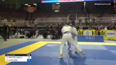 DANIEL WALTER LASZLO vs RAYMOND ALAN HOM 2021 Pan Jiu-Jitsu IBJJF Championship