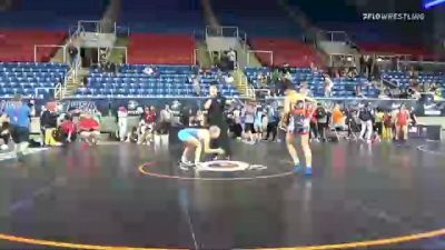 112 lbs Round Of 32 - Julianna Burkett-Erice, Virginia vs Sage Mortimer, Utah
