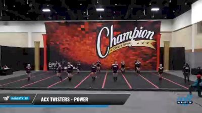ACX Twisters - Power [2021 L3 Junior] 2021 Wolfpack Championship