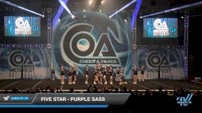 Five Star - Purple Sass [2020 Exhibition (Cheer) Day 1] 2020 COA: Midwest National Championship