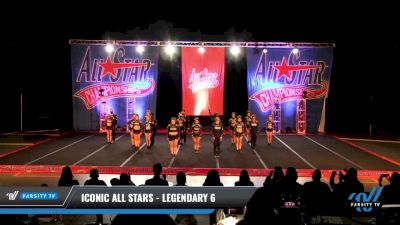 Iconic All Stars - Legendary 6 [2021 L6 International Open Coed - NT Day 3] 2021 ASCS: Tournament of Champions & All Star Prep Nationals