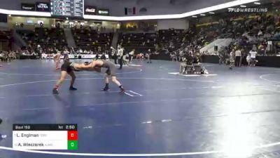 133 lbs Prelims - Levi Englman, Ferrum College vs Austin Wieczorek, Alma College