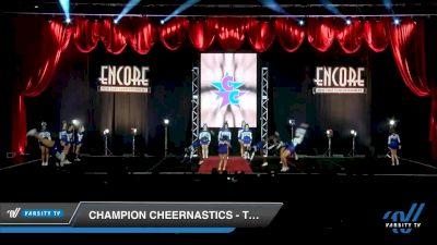 Champion Cheernastics - Tanzanite [2019 Senior - D2 2 Day 2] 2019 Encore Championships Houston D1 D2