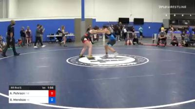 104 lbs Prelims - Alexis Pehrson, The Best Wrestler vs Belleza Mendoza, Missouri