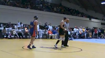 157 lbs quarter-finals George Ivanov Boise State vs. Chase Cuthbertson Utah Valley
