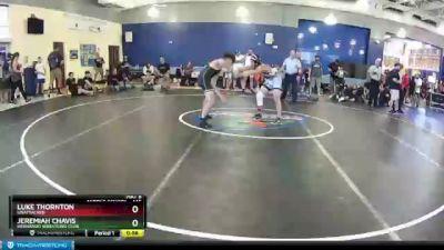 145 lbs Round 2 - Jeremiah Chavis, Hernando Wrestling Club vs Luke Thornton, Unattached