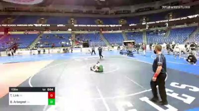 113 lbs 3rd Place - Tommy Link, Pennsylvania vs Brycen Arbogast, Virginia