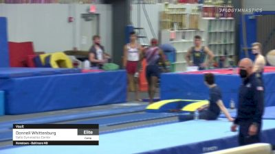 Donnell Whittenburg - Vault, Salto Gymnastics Center - 2021 April Men's Senior National Team Camp