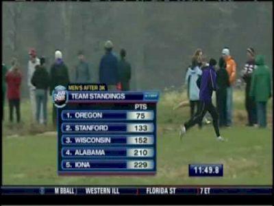 2008 NCAA Men's Cross Country D1 Championship Race (2 of 4)