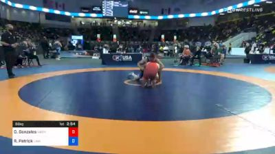 86 kg Consolation - Osvaldo Gonzales, Washington vs Robert Patrick, Cavalier Wrestling Club