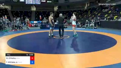 79 kg Consolation - Michael O'Malley, Pennsylvania RTC vs Travis Wittlake Jr., TMWC/ Cowboy RTC