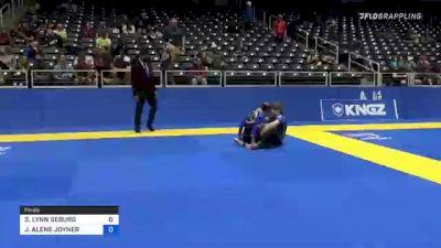SHERI LYNN SEBURG vs JENNIFER ALENE JOYNER 2021 World IBJJF Jiu-Jitsu No-Gi Championship