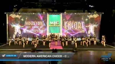 Modern American Cheer - Clarity [2020 L4.2 Senior Coed - D2 Day 2] 2020 Encore Championships: Houston DI & DII