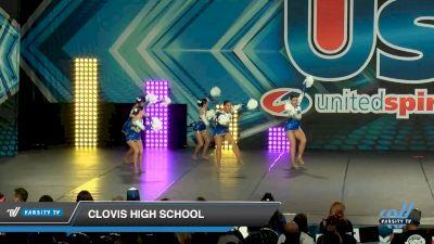 Clovis High School [2020 Small Varsity Song/Pom Intermediate (5-7) Day 2] 2020 USA Spirit Nationals