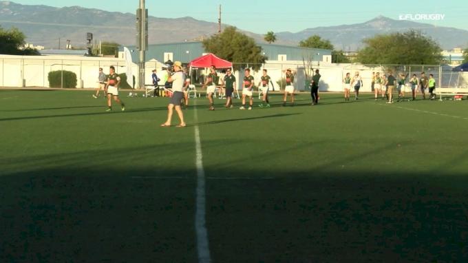 College 7s Women D1E 5th SF: Davenport vs AIC