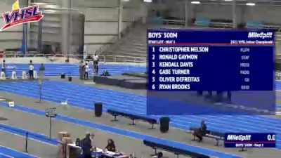 High School Boys' 300m Class 5, Finals 1