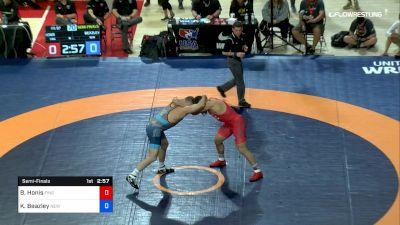 97 lbs Semifinal - Ben Honis, Finger Lake WC vs Kevin Beazley, New York Athletic Club
