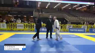 BRAD M SCHULTE vs STEVEN CURTIS SHEARON 2020 World Master IBJJF Jiu-Jitsu Championship