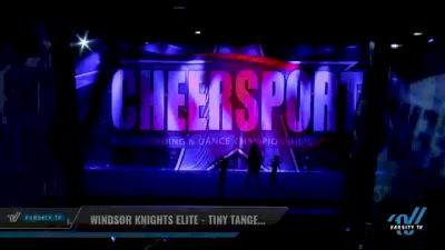 Windsor Knights Elite - Tiny Tangerines [2021 L1 Performance Recreation - 6 and Younger (NON) Day 2] 2021 CHEERSPORT National Cheerleading Championship