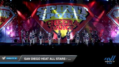 San Diego Heat All Stars - Sparks [2020 L1 Youth - D2 - Small Day 1] 2020 Spirit Sports: Duel In The Desert