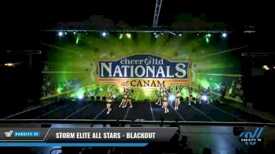 Storm Elite All Stars - Blackout [2021 L3 Senior Coed - D2 Day 2] 2021 Cheer Ltd Nationals at CANAM