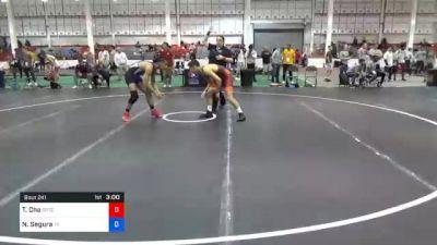 65 kg Consolation - Theodore Cha, Gopher Wrestling Club - RTC vs Nicholas Segura, Texas