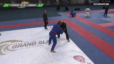 VITOR SILVA vs LEONARDO ANDRADE 2018 Abu Dhabi Grand Slam Rio De Janeiro