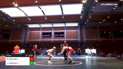 195 lbs Final - Seth Shumate, OH vs Isaiah Anderson, WA