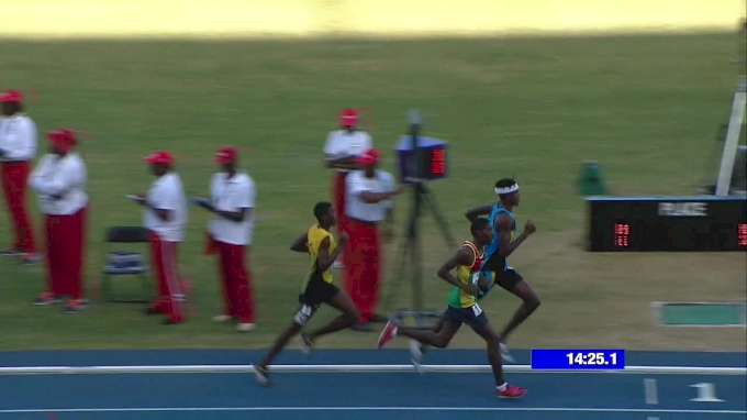 Epic Kick Wins The CARIFTA Boys' 5k
