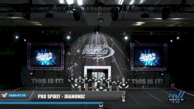 Pro Spirit - DIAMONDZ [2021 L2.2 Junior - PREP 2] 2021 The U.S. Finals: Grapevine