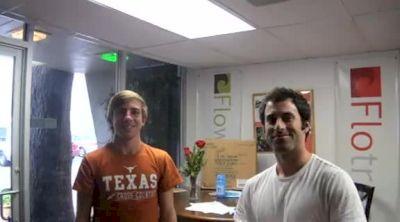 Craig Lutz stops by Flocasts HQ for his FloFrosh shirt