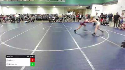 160 lbs Rr Rnd 2 - Juliet Alt, WV vs Phoenix Hunter, OH
