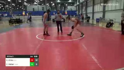 170 lbs Rr Rnd 5 - Cooper Caraway, Covid Cowboys vs Anthony Bauer, Alber Athletics