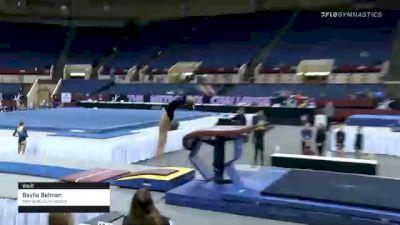Baylie Belman - Vault, Metroplex Gymnastics - 2021 Metroplex Challenge