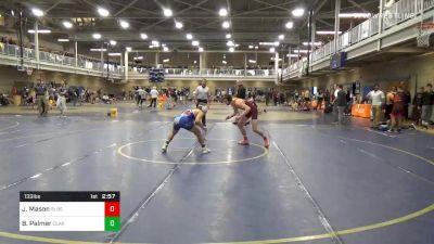 Semifinal - Josh Mason, Bloomsburg vs Brayden Palmer, Clarion-Unattached