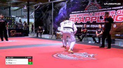 Piter Silva vs Sergio Rios World Series of Grappling #2