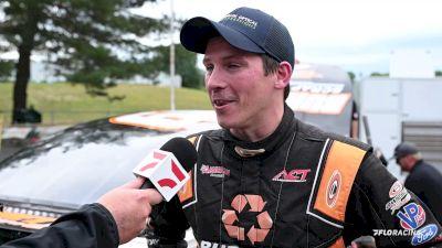 Jason Corliss Drives Damaged Car To Podium