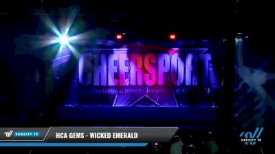 HCA Gems - Wicked Emerald [2021 L3 Junior - D2 - Medium Day 2] 2021 CHEERSPORT National Cheerleading Championship