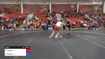92 kg 3rd Place - Thomas Penola, Boilermaker RTC vs Luke Surber, Cowboy RTC