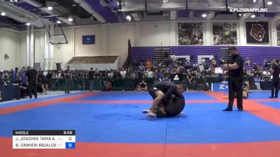 JOHNNY JOACHIN TAMA APOLINARIO vs BRENO DAMIÉRI RICALDE MACIEL 2019 Pan IBJJF Jiu-Jitsu No-Gi Championship
