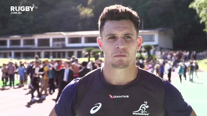 Toomua Checks Out Australia's RWC Home