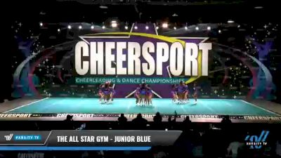 The All Star Gym - Junior Blue [2021 L2 Junior - D2 - Small - A Day 1] 2021 CHEERSPORT National Cheerleading Championship