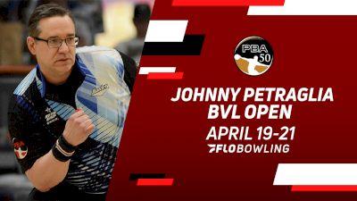 Full Replay: Lanes 21-22 - PBA50 Johnny Petraglia BVL Open - Match Play Round 2